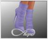 Suede Boot Lavender
