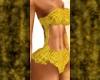Gold Bathing Suit