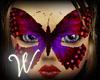 *W* Butterfly Dusk Mask