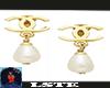 Pearl Earrings Chanel