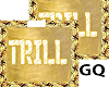 Plated Gold Name TRILL
