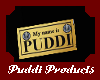 puddi name badge