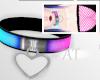 AT Pink+Blue Neon Collar