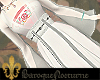 BN| White Layer Robe
