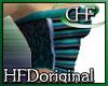 HFD Ribs & Spots Teal