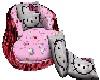{BA69} H Kitty kiss sofa