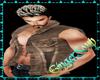 Brown Jean&Snake Skin Ve