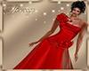 Dress Red + Flower RL