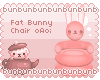( / @ A@)/ Bunny Chair