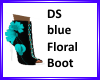 DS Blue Floral boot
