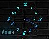 Animated clock Neon