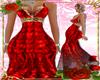 XXL RED LONG DRESS