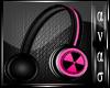 AN- Pink Headphones