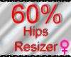 *M* Hips Resizer 60%
