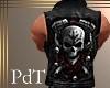 PdT Skull&Rose LeathrCut