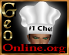 Geo Chef Hat male