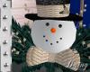 Christmas Gold snowman