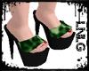 L:LG Heels-Wild Green