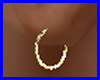 (R)King Gold Baby Hoops