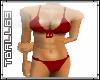 Dazzling Red Bikini