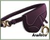 A Purse Belt Purple