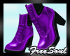 CEM Purple Pvc Boots