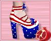 🎀 Patriotic Heels