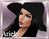 Mazie Hat Hair Black