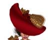 Be My Valentine Hat/Brun