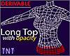 Derivable Long Top w/opa