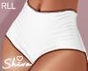 $ Mimi White Shorts RLL