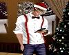 Christmas Dress Shirt -M