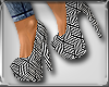 C|Graphic Line Heel