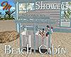 [M] Beach Cabin Showers