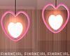 Heart Ceiling Lights