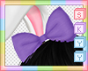 Kids Purple Bow
