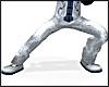 Kungfu Silk Pants SILVER