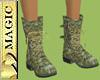 Skull Camo Boots