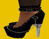 Chained Bullet heels