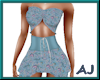 (A) Girly Blue Paisley