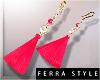~F~Summer Earrings Pink