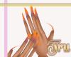 N| sunset nails