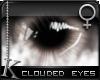 K| Clouded Eyes: Brown