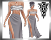 CTG  SILVER GRAY GOWN