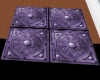 Inlayed Purple Tile Sq.