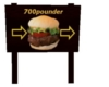 700 pounder