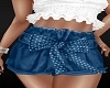 Blue poke a dot shorts