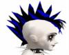 Blue Electric Mohawk