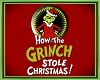 GRINCH floor sign