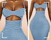 ṩKarla Dress Blue rll